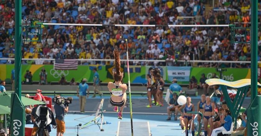 Eliza McCartney at the 2016 Rio Summer Olympics   © Wikimedia Commons