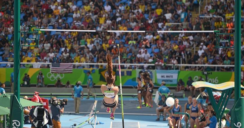 Eliza McCartney at the 2016 Rio Summer Olympics | © Wikimedia Commons