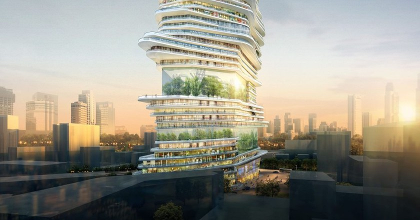 'Endless Vertical City'   © SURE Architecture Limited
