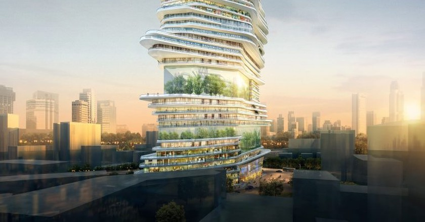 'Endless Vertical City' | © SURE Architecture Limited