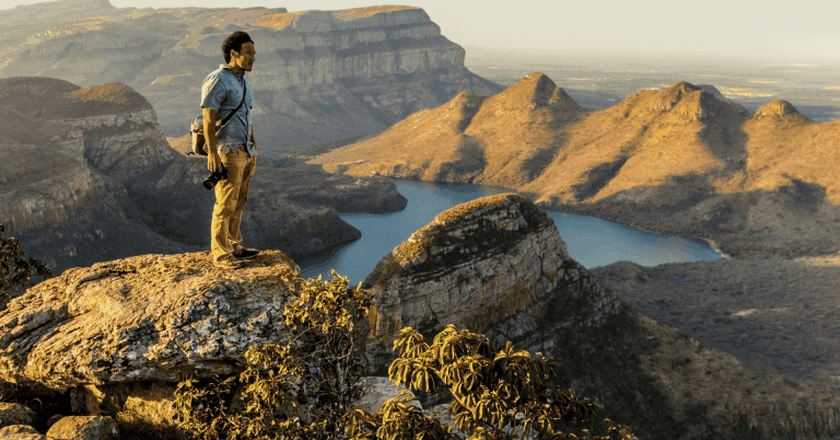 The Blyde River Canyon, situated on the Panorama Route, is a major attraction   Courtesy of South African Tourism