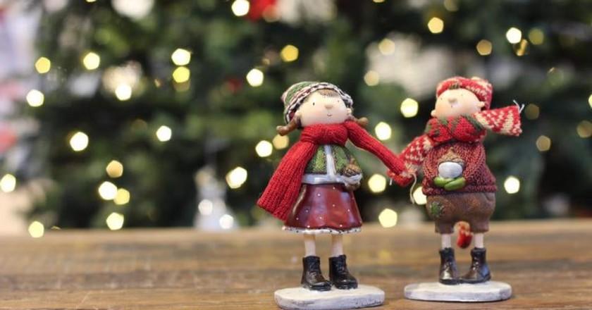 Festive figurines | Courtesy of Hadeland Glassverk