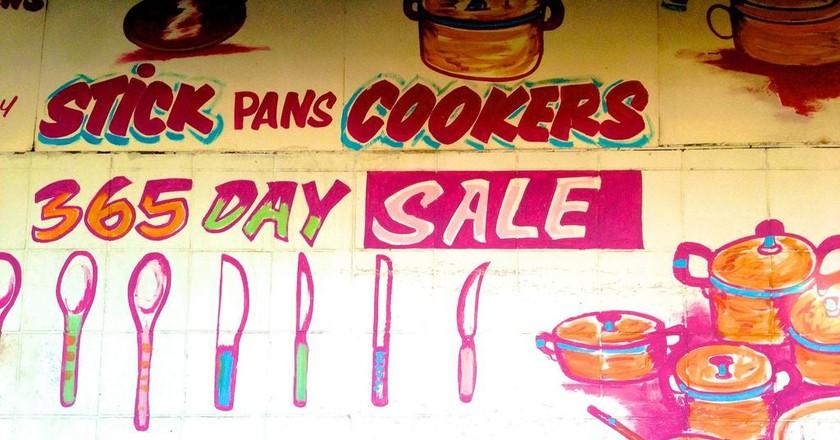 Colourful signage so evident in Fordsburg  © Fiverlocker / Flickr