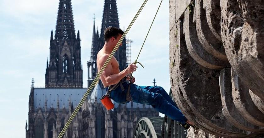 Free climbing Cologne