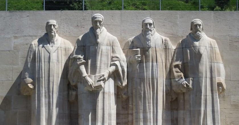 John Calvin, second from the right   © TomTyler/ Pixabay