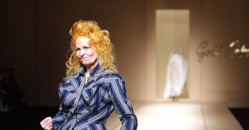 British designer Vivienne Westwood | © PIERRE VERDY/AFP/Getty Images