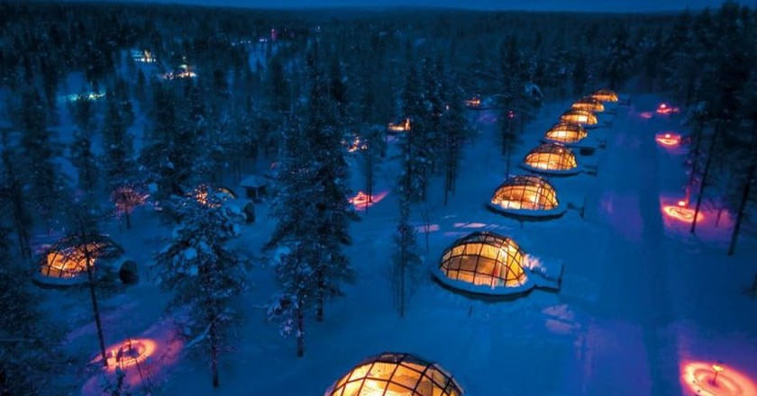 Igloos in Lapland | © Greenland Travel / Flickr