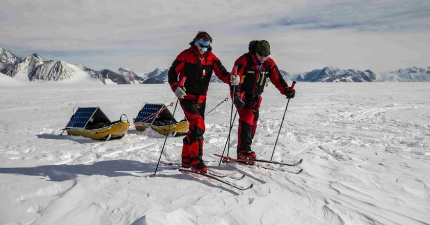 Follow the Word's First Sustainably Powered South Pole Expedition With This Interactive Map