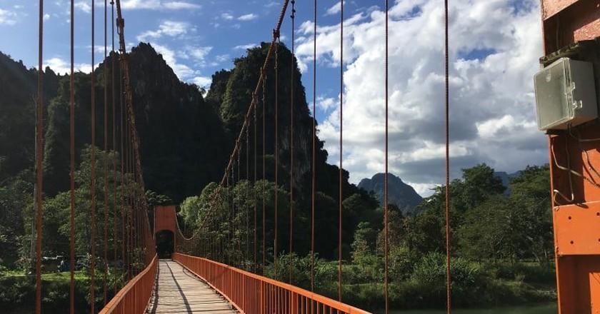 Bridge to Tham Chan   © Regina Beach/Culture Trip