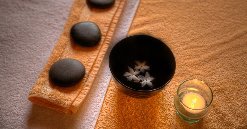 Relax at a spa in Agadir   Courtesy of Argan Phyto House