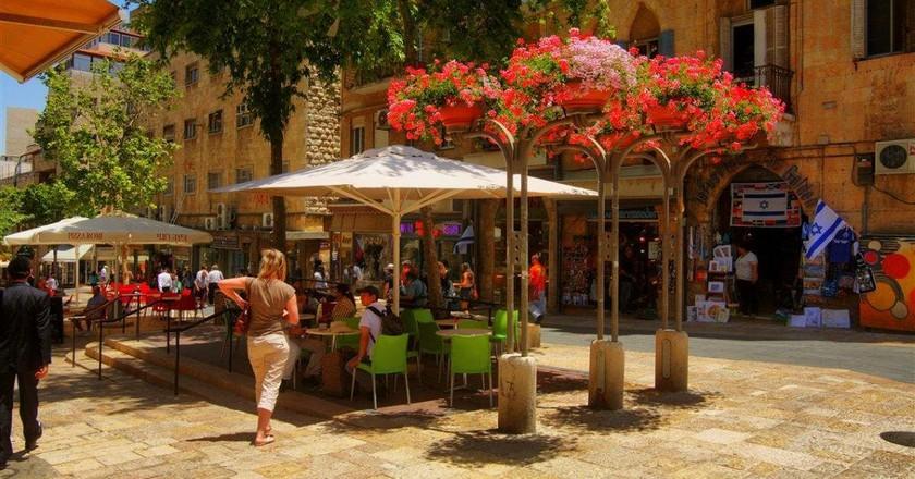 Ben Yahuda Promenade Jeruslaem | © Noam Chen/GoIsrael