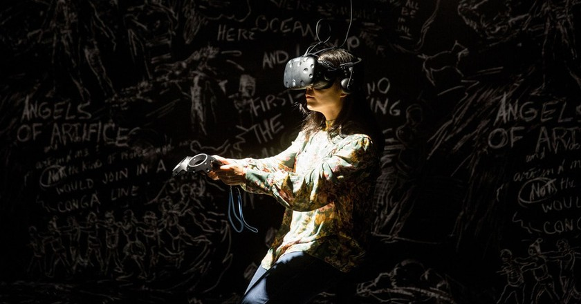 La Camera Insabbiata installation | © Taipei Fine Arts Museum
