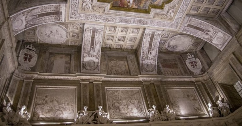 One of the ceilings inside Palazzo Madama |  © stefano Merli/Flickr