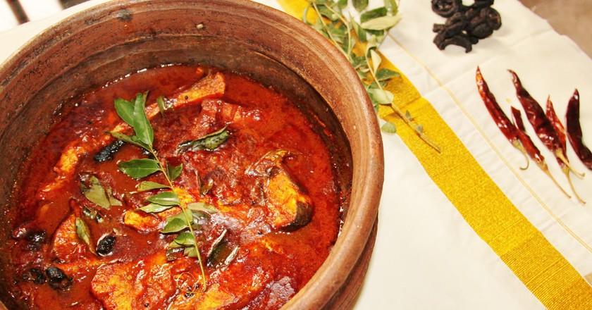 Kerala meen (fish) curry I © Prasad Pillai/Flickr
