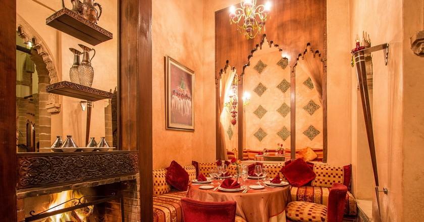Dining area | Courtesy of Le Ziryab