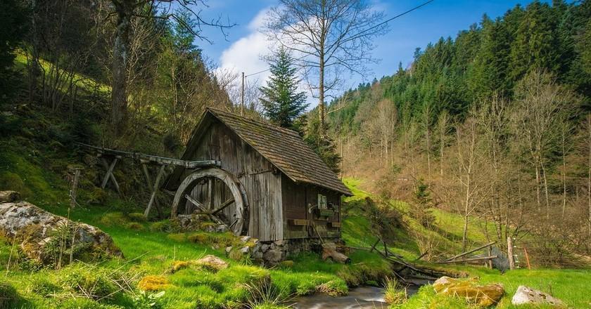 Mill in the Black Forest I © hschmider / Pixabay