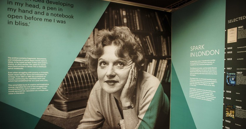 Dame Muriel Spark © Courtesy of the National Library of Scotland