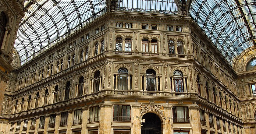 Galleria Umberto I - the scene of the crime | © Michael Paraskevas/WikiCommons