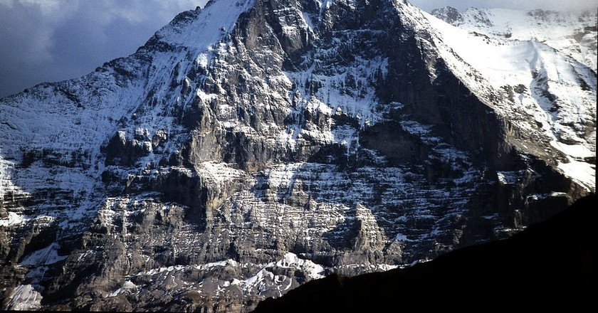 The north face of the Eiger, one the Alp's toughest climbs | © Terra3/ Wikicommons