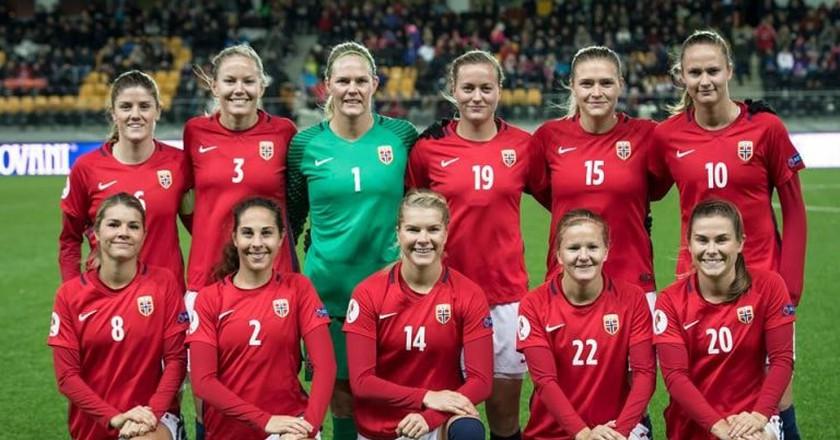 Norway's women's national football team | Courtesy of Fotballandslaget