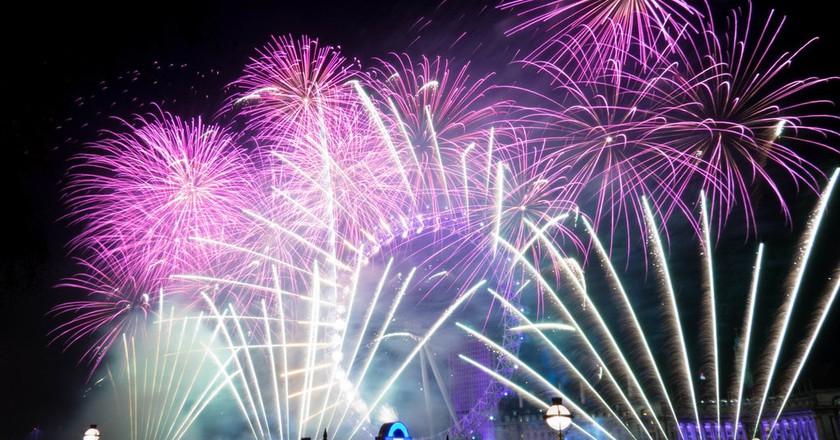 NYE Fireworks London