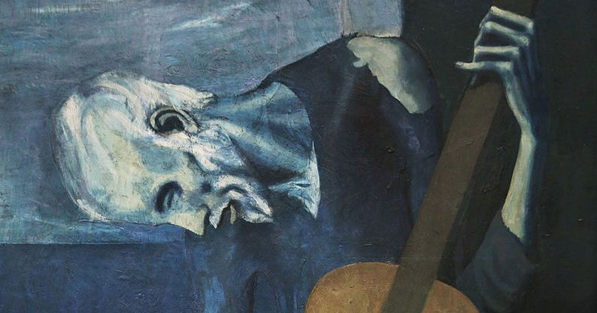 The Old Guitarist | | © Pablo Picasso, via WikiCommons