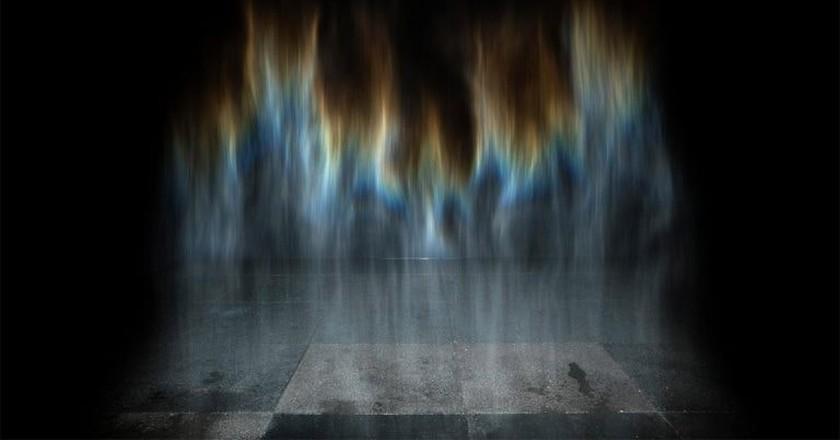 Rainbow by Olafur Eliasson   Courtesy of Acute Art.