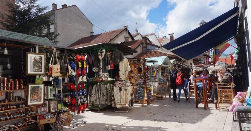 Souvenirs in Old Bazaar Sarajevo | © Sam Bedford