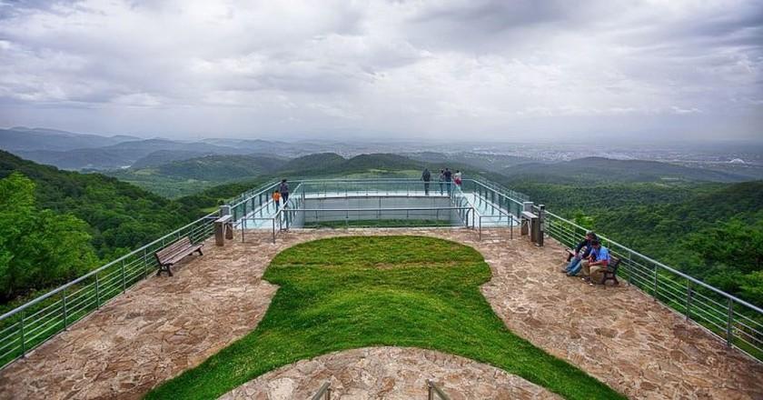 The viewpoint from Sataplia Nature Reserve | © paata vardanashvili / WikiCommons