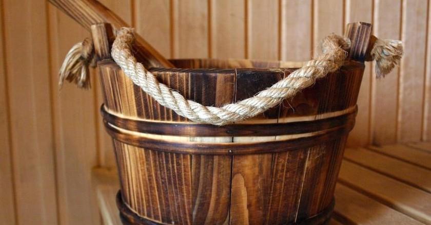 Sauna bucket and ladle | © Anniepan/Pixabay
