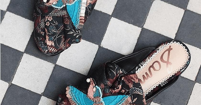 Sam Edleman loafers   © Instagram @anthropologieeu