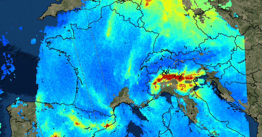 | © contains modified Copernicus Sentinel data (2017), processed by KNMI/ESA