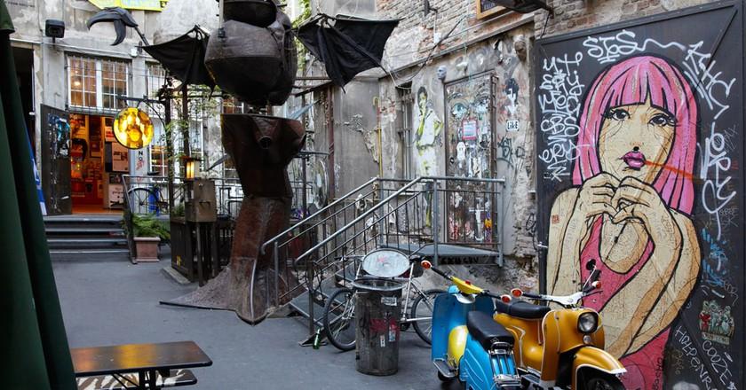 Grungy Urban Art in Berlin   © andersphoto/Shutterstock