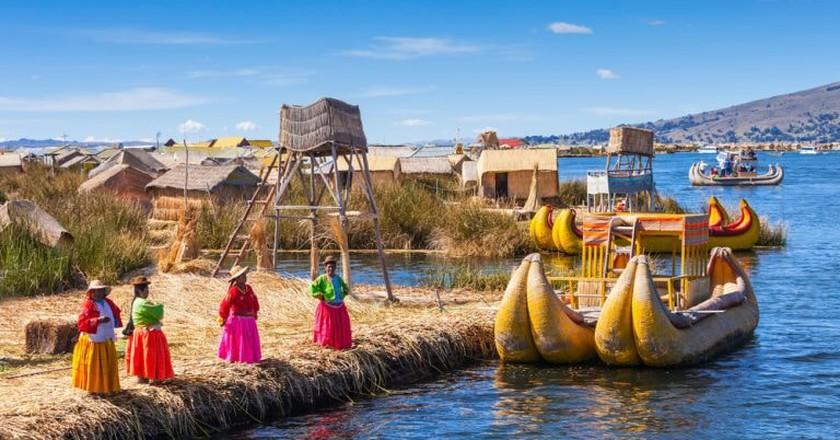 Uros reed islands | © Shutterstock