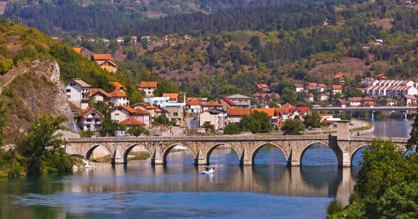 Old Bridge on Drina river in Visegrad | ©Tatiana Popova/WikiCommons