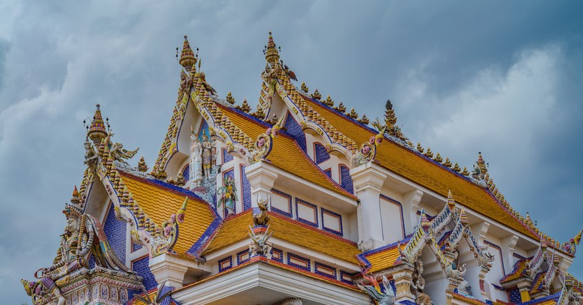 The vibrant Wat Pariwat | ©  Prawat Thananithaporn/Shutterstock