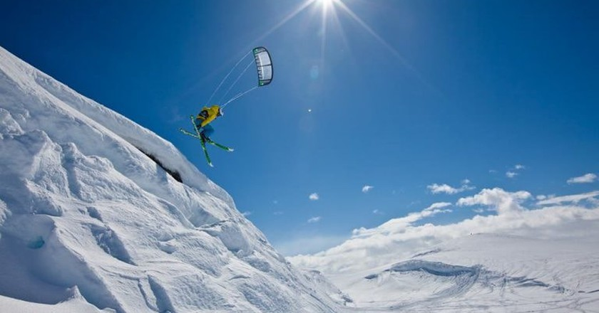 Snowkiting in Hardangervidda | Courtesy of Haugastøl