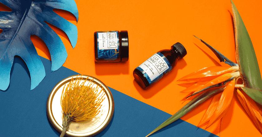 Calming body balm and bath oil | Courtesy of Lulu & Marula