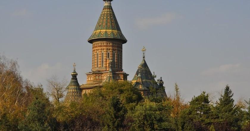 Timișoara Orthodox Cathedral | © stachelvieh/Pixabay