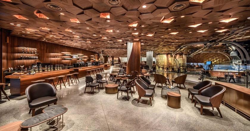 Starbucks' new Roastery in Shanghai