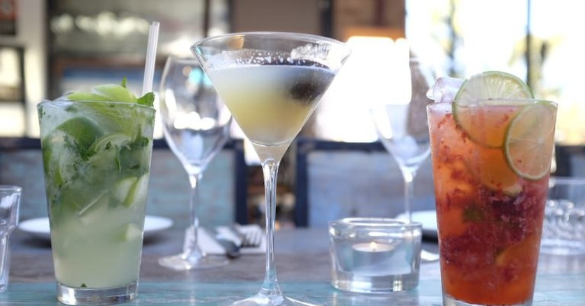 Cocktails | Courtesy of Stranded Gourmet