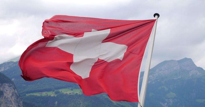 The Swiss flag | © hagu81/ Pixabay