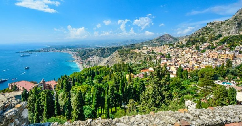 Taormina, Sicily   Public Domain Pictures