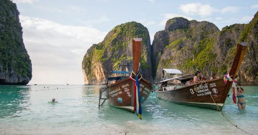 Maya Bay | © moritzklassen / Pixabay