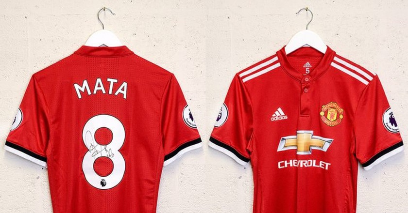 Win a Juan Mata Shirt Through Common Goal