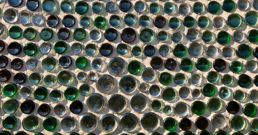 This House is Made Out of 25,000+ Glass Bottles