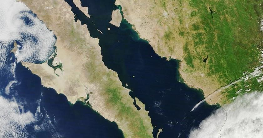 The Baja California Peninsula   © NASA Goddard Space Flight Center / Flickr