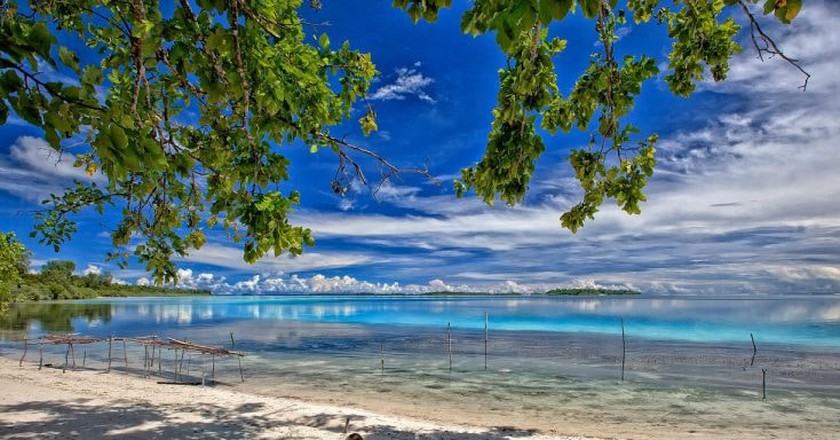 Widi Islands Beach | © Kanenori/Pixabay