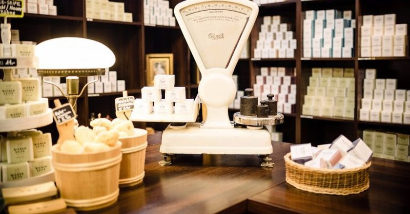 The beautiful soap shop   Courtesy of Wiener Seife