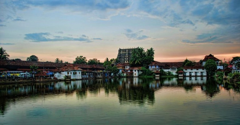Trivandrum Sree Padmanabha Swamy Temple Complex   © Ashcoounter / WikiCommons